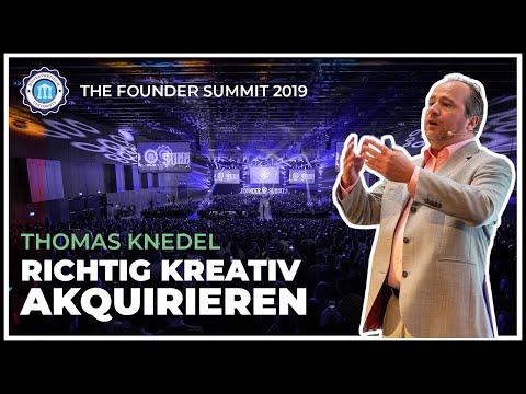 Die 7 Schritte zum erfolgreichen Immobilieninvestment - Thomas Knedel - The Founder Summit 2019