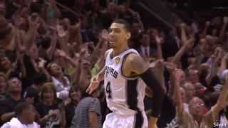 San Antonio Spurs all 16 Three-Pointers vs Miami Heat - NBA Finals 2013 Game 3