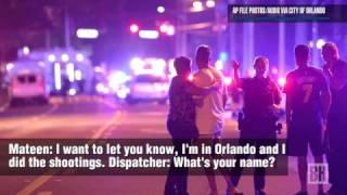 Audio:  Orlando shooter Omar Mateen calls 911