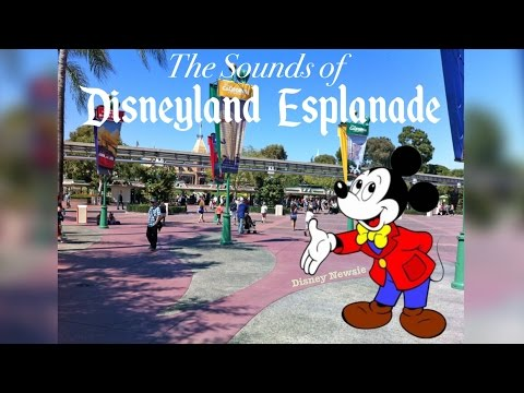 Disneyland Esplanade Music Loop