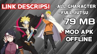 Gambar cover Naruto senki mod boruto Uzumaki mod apk