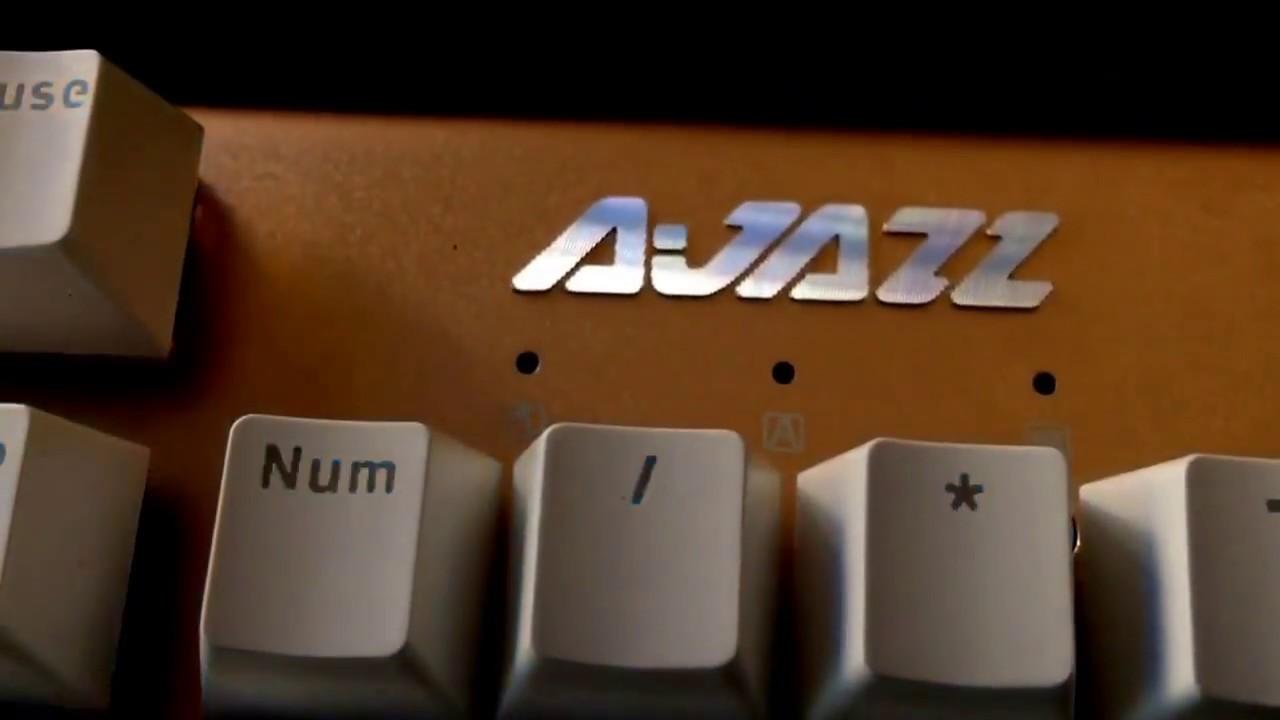ZPRO.VN [XEM NHANH] Bàn phím cơ Ajazz AK40S Trắng