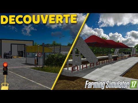 DÉCOUVERTE D'UNE MAP TRAVAUX PUBLICS - Farming Simulator 17 !