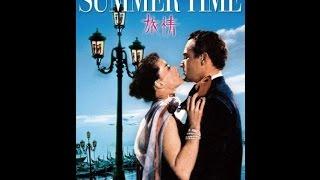 "Rossano Brazzi - ""Summertime in Venice "" 映画「旅情」 (1955)"