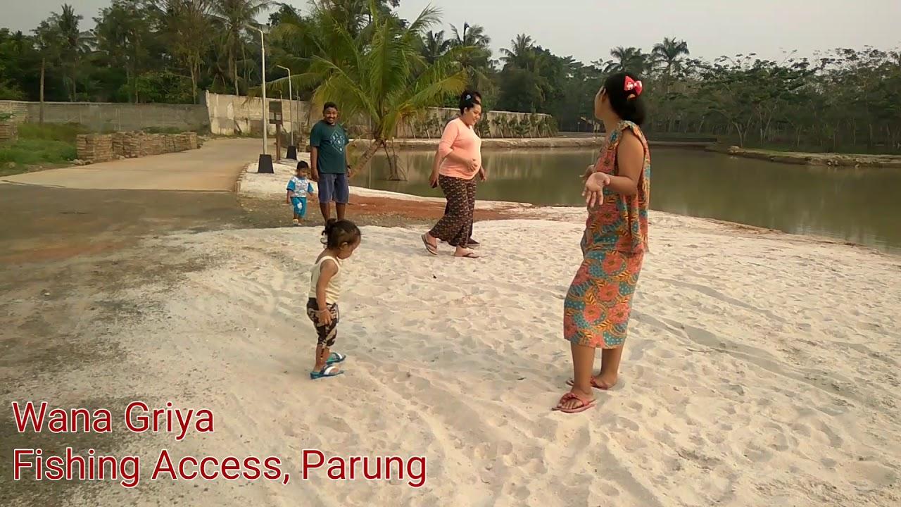 Wana Griya Fishing Access, Parung Bogor - YouTube