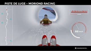 Courchevel - Piste de luge Moriond Racing