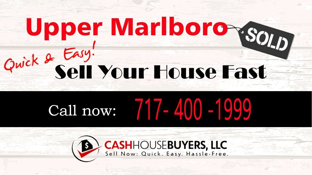 HOW IT WORKS We Buy Houses Upper Marlboro MD   CALL 7174001999   Sell Your House Fast Upper Marlboro