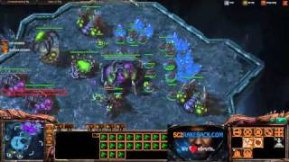 ROOTDestiny (Z) vs. roxkisBratOK (T) [Game 1] - Starcraft 2 Tournament