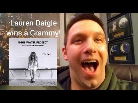 Lauren Daigle wins a Grammy Award!