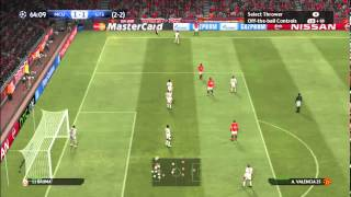 PES 2015 Gameplay: Manchester United vs. Galatasaray A.S. [HD] [PC] [SRB]