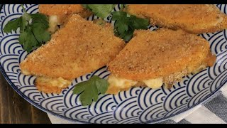 Crunchy squash cordon bleu: an easy and quick recipe for a delicious dinner!