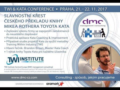 Jitka Tejnorová zve na TWI & Kata Conference Praha 2017