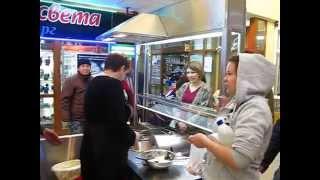 Пончиковый аппарат АПФ в торговом центре