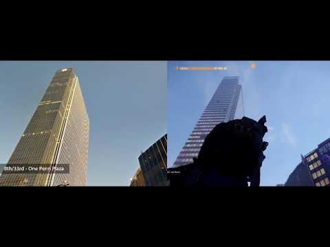 The Division: Manhattan Landmarks (Real places x in-game)