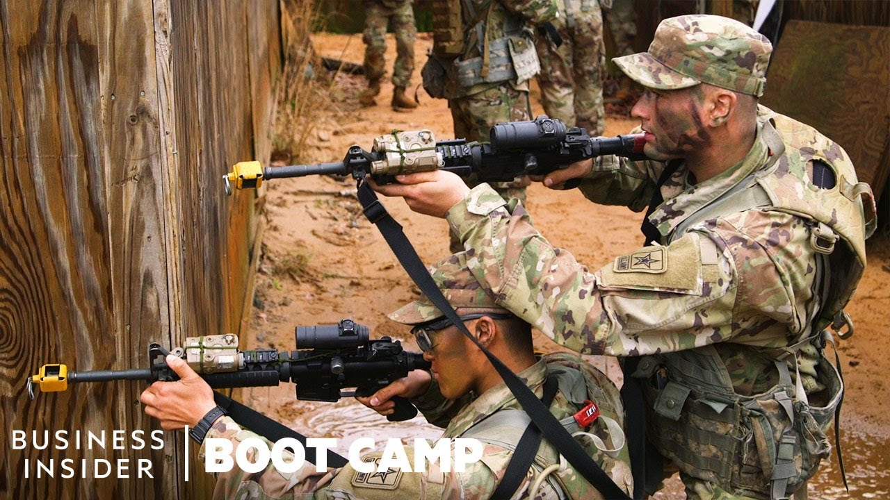 Why Army Recruits Master The 'Rolling T' Combat Formation At Boot Camp | Boot Camp