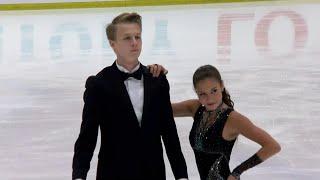 Ритм-танец. Танцы. Гран-при США по фигурному катанию среди юниоров 2019/20