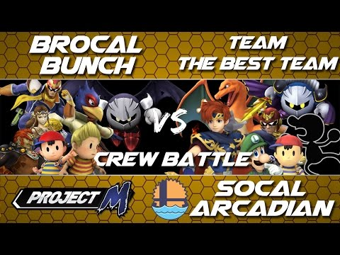 SOCAL ARCADIAN | CREW BATTLE - Brocal Bunch VS Team THE BEST TEAM