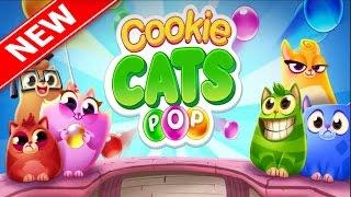 Cookie Cats Pop игра шарики на андроид для детей 2017 Освободи котят 1 серия / Cookie Cats Pop game