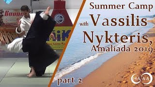 Awesome Aikido Art with Vassilis Nykteris - SummerCamp 2019,  part 2