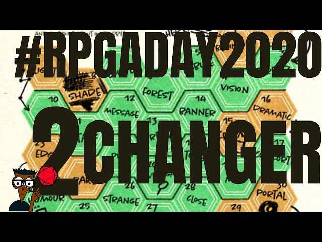 RPGaDay2020 jour 2 : Changement