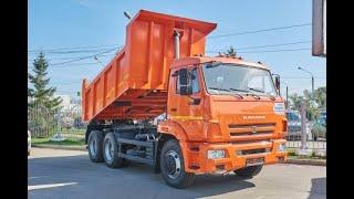 Оранжевый КАМАЗ и теперь у нас есть Кузя.