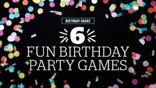 6 Fun Birthday Party Games