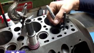 Ford Flathead V-8 Valve Seat Grinding