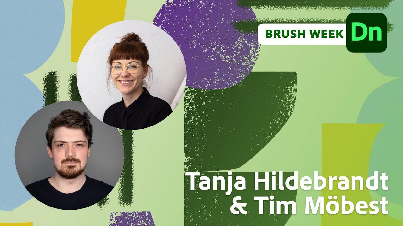 Brush Week: Muster und Pinsel mit Tanja Hildebrandt  Adobe Live