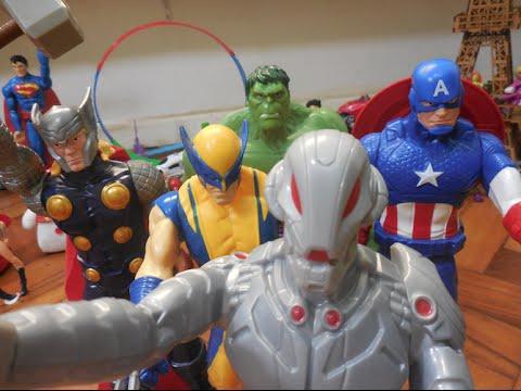 Hulk Thor Homem de Ferro Capitão América Marvel Avengers Lego X Ultron Venom Brinquedos Toys Kids