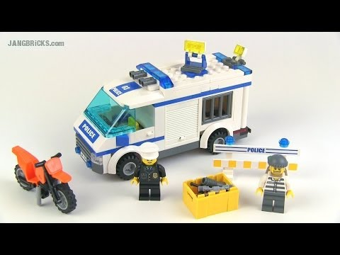 Lego City Prisoner Transport Set 7286 Review Youtube