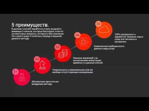 Бесплатный видео курс Способ 1 Урок 1  Введение  Заработок 900 рублей в день