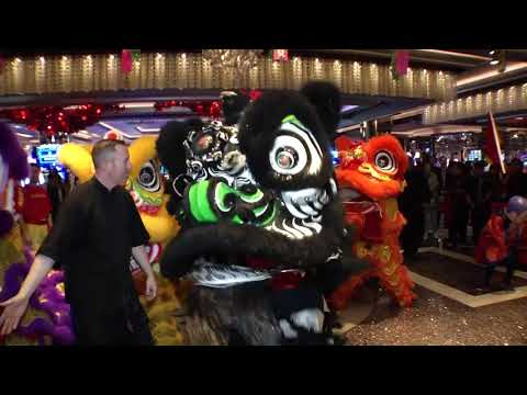 Cosmopolitan Dragon Dance, Las Vegas - Unravel Travel TV