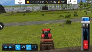 Nowy traktor i praca nim na polu