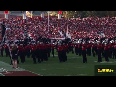UGA Redcoat Marching Band vs South Carolina W2410 11417