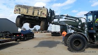 Download Picking up a Surplus HMMWV M1045A2 from Auction & Transforming it into the Battlewagon 2.0 Mp3 and Videos