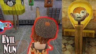 Взорвал Секретные Коробки Куклой! Прошёл все 4 Главы Монахини и Собрал Маску! - Evil Nun | Монахиня