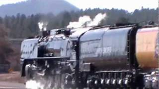 Union Pacific 844 on The Joint Line: Castle Rock to Larkspur