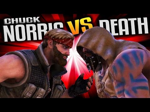Chuck Norris vs DEATH! - Ultimate Epic Battle Simulator Gameplay - UEBS Custom Units