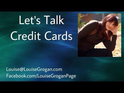 Let's Talk Credit Cards !