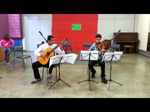 Luiz e Hellyson Sonata em RÉmaior de Christian Gottlieb Scheidler