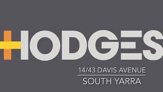 14/43 Davis Avenue, South Yarra