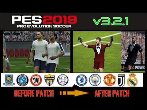 Download Pes 19 Mobile Patch Real Team Name Jerseys Logos