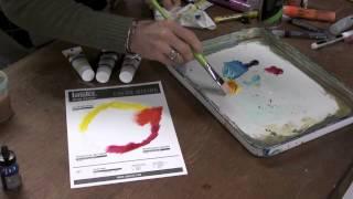 Liquitex Heavy Body Primary Color Mixing