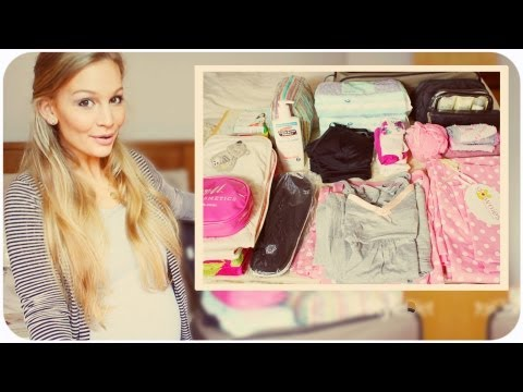 WHAT'S IN MY HOSPITAL BAG! Travel Video
