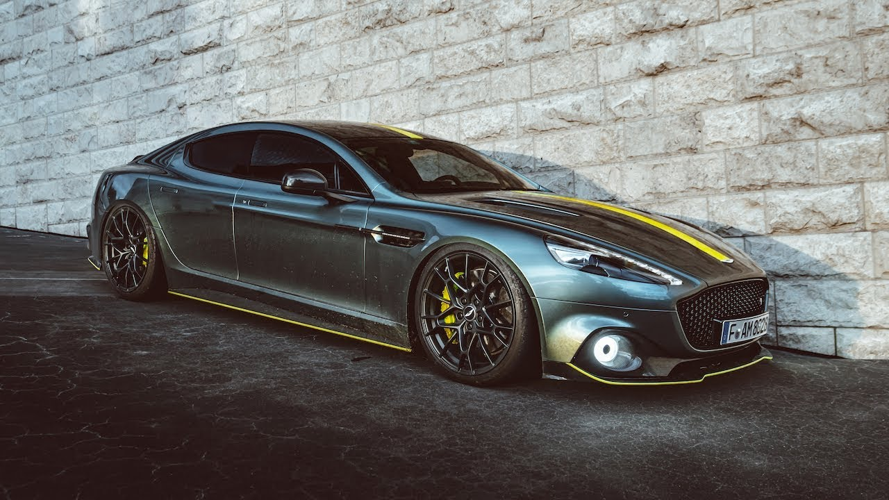 Aston Martin Rapide Amr V12 Symphony Mountain Pass Drive Youtube