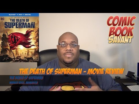 The Death Of Superman - Movie Review