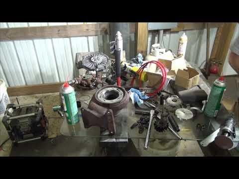 Rebuilding lbz duramax turbo at home