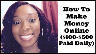 How To Make Money Online Fast Easy Ways 2019 - Legit Make Money Online Fast Earn $100 To $500 Daily