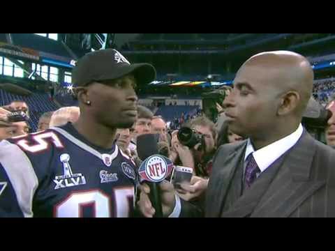 Chad Ochocinco Speaks Humbly at Super Bowl XLVI