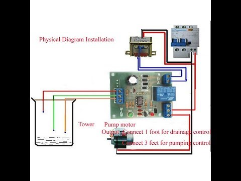 Water Tank Level Controller Module || Sensor Flow Water